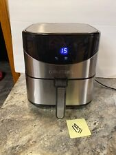Gourmia GAF685 Digital Stainless Steel Air Fryer Healthy Cooking 6qt (1a(b)