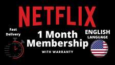 [PRIVATE] Netflx 4K UHD 1 Month Premium + Warranty | worldwide | 4 Screen
