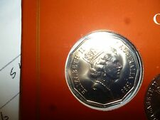 AUSTRALIA 1986 50 CENT UNCIRCULATED