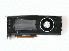 NVIDIA Geforce GTX Titan X Pascal 12GB CUDA PCIe GPU Graphics Video Card