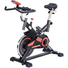 HOMCOM Cyclette Fitness Allenamento Aerobico Professionale con Volano Acciaio