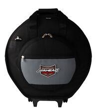Ahead AA6024W Armor Deluxe Heavy Duty Cymbal Case w/ Wheels