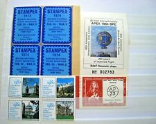 SELECTION OF GB CINDERELLAS (STAMP EXHIBITIONS)  LOT#436