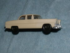 The Lionel Corp Plastic Vintage Toy Car Sedan Cream White Made In USA