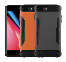 For iPhone XS 8 7 External Military Power Case Bank Battery Charger Backup Cover