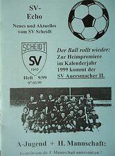 Programm 1998/99 SV Scheidt - SV Auersmacher II