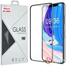 PELLICOLA VETRO PER IPHONE XR XS MAX 5D 5 6 7 8 SE TEMPERATO PROTEZIONE SCHERMO