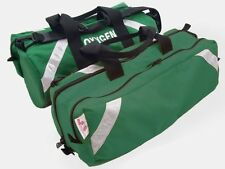Oxygen Roll Bag with Side Pocket - GREEN