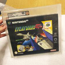 Lylat Wars Bigbox for Nintendo 64 (N64). PAL - Nintendo Sealed and Graded VGA