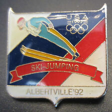 1992 Albertville Usa Olympic Ski Jumping Team Pin