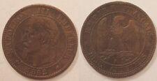 2 Centimes Napoléon III, 1862 A, TB+ !!