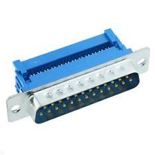 25-Way IDC Male D Plug Connector