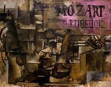 La PITTURA BRAQUE Violino Mozart kubelick ART PRINT PICTURE POSTER hp2801