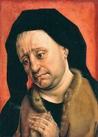 Oil painting rogoer vander weyden - Male portrait joseph of arimathea at prayer