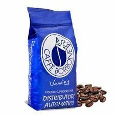 1 BUSTA CONFEZIONE 1 KG CAFFE' BORBONE IN GRANI MISCELA BLU VENDING ORIGINALE