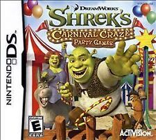 NEW DS, DSI, DS, 2DS Game Works in 3DS Shrek's Carnival Craze MAKE AN OFFER