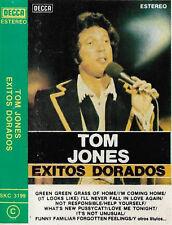 TOM JONES EXITOS DORADOS CASSETTE SPANISH ISSUE Golden hits POP ROCK SOUL