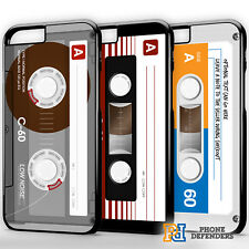PERSONALISED CASSETTE TAPE RETRO CLASSIC Phone Case Cover For iPhone & Samsung