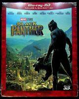 EBOND Black Panther BLU-RAY 3D + BLU-RAY D262007
