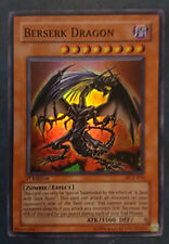 Carte YU-GI-OH! Berserk Dragon 1ère édition DCR-019 SUPER RARE EN