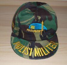 [D] Militärkappe, Army Cap, Schirmmütze - POLISI MILITER