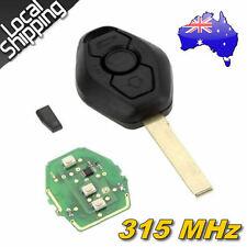 3 Buttons Remote Key+315MHz Transponder Chip EWS for BMW X Z 3 5 7 Series HU92