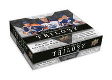 2016-17 Upper Deck Trilogy Hobby Box (S/H In Canada/USA Only)