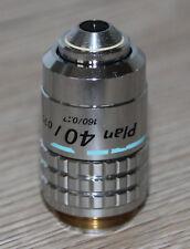 Nikon Mikroskop Microscope Objektiv Plan 40/0,70 (endlich Optik)