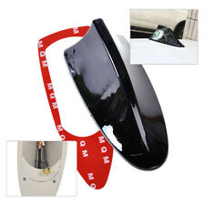 Auto Car Black Roof Radio AM/FM Signal Shark Fin Style Aerial Antenna Decorate