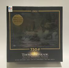 "Ceaco Thomas Kinkade Metallic Special Edition ""Courage"" • 750 Piece Puzzle NEW"