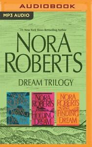 Nora Roberts DREAM TRILOGY Complete Unabridged MP3-CD 34 Hour *NEW* FAST Ship