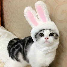 Cute Rabbit Ears Hat Cap Pet Cosplay Costumes for Cat Small Dogs Party Gift