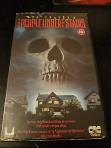 THE PEOPLE UNDER THE STAIRS CIC BIG BOX EX RENTAL VHS CRAVEN HORROR