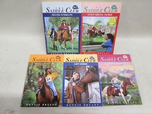 Lot OF 10 Paperbacks The Saddle Club Books  by Bonnie Bryant.*