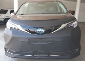 Lebra Front End Mask Cover Bra Fits Toyota Sienna 2021 21 Without License plate