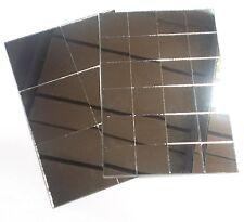 Muestra De Baldosas De Espejo en un forro auto adhesivo flexible 25 y azulejos de 50mm