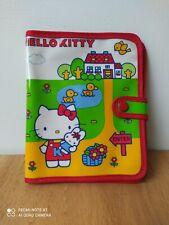 Vintage Hello Kitty Sanrio 1976 wallet purse plastic cotton edge Japan retro