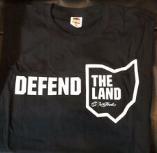 Cleveland Cavaliers Playoff Defend The Land T-shirt Size XL Black NEW The Finals