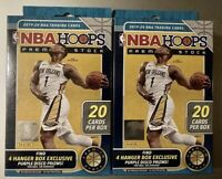 2019 2020 Panini NBA Hoops Premium Stock Hanger Boxes Factory SEALED LOT OF 2