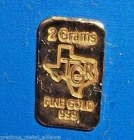 .33 BAR OF 24K PURE .999 FINEST GOLD TGR BULLION 1//3 GRAM G  GOLD