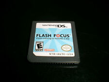 Flash Focus: Vision Training in Minutes a Day (Nintendo) DS Lite DSi XL 3DS 2DS