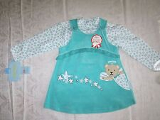 Jumper 2 Piece Set Outfit Long Sleeves Baby Girls Size 9-12 Months Plush NWT New