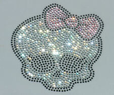 """6.1"""" Monster High iron on rhinestone transfer applique patch"""