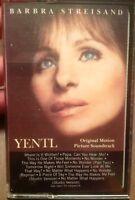 Yentl 1983 Cassette Barbra Streisand UsedCassetteTapescom
