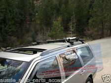 Black Roof Rack Cross Bars for Suzuki Ignis XL-7 Grand Vitara w/ Facotry Rails