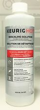 Keurig Hot Descaling Solution for K Cup, Rivo, Vue Brewers Cleaner Descale 12 oz