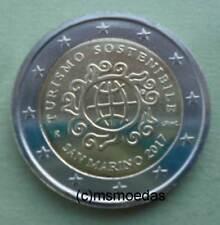 San Marino 2 Euro 2017 Tourismus Gedenkmünze commemorative coin Euromünze