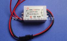 3W LED Driver AC85-277V to DC3-12V 600mA for 3W High Power LED