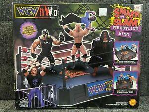 Smash 'N Slam Wrestling Ring WCW / nWo  New Unopened in Box