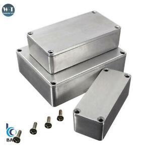 Diecast Aluminium Electronics Project Box Case Enclosure Instrument
